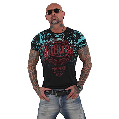 Yakuza Herren Through Times T-Shirt,Schwarz, M,Schwarz,M