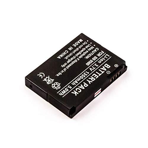Energy 4047038303600 - Batería compatible rim blackberry d-x1 8900, curve 8900, 9500...