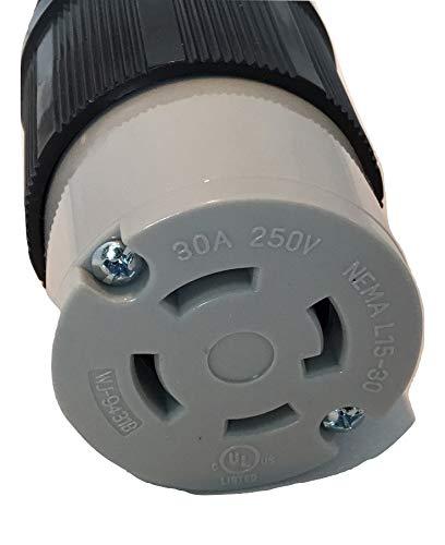 POWERTRONICS CONNECTIONS (TM) NEMA L15-30 Connector