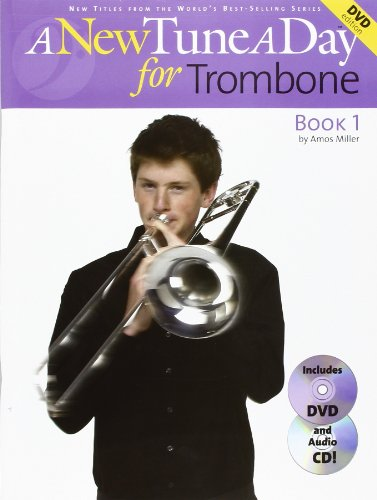 A New Tune A Day: Trombone - Book 1 (DVD Edition) (Book, CD & DVD): Noten, Lehrmaterial, CD, DVD (Video) für Posaune (New Tune a Day CD & Book + DVD)