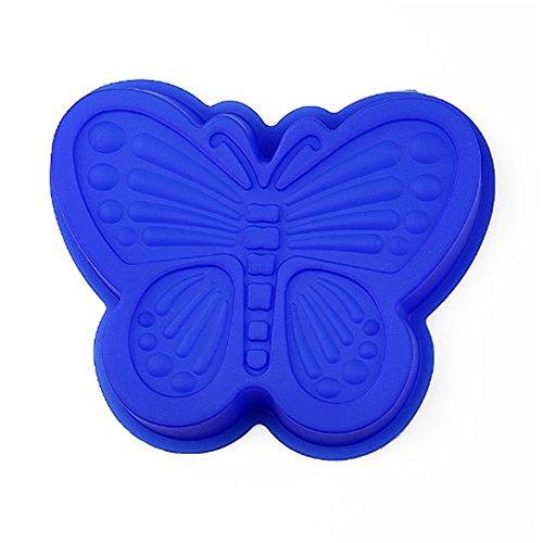 FantasyDay® Premium Silikon Backform/Muffinform für Muffins, Cupcakes, Kuchen, Pudding, Eiswürfel und Gelee - Schmetterling Form Silikonform für Eindrucksvolle Kreationen, Hochwertige Kuchenform