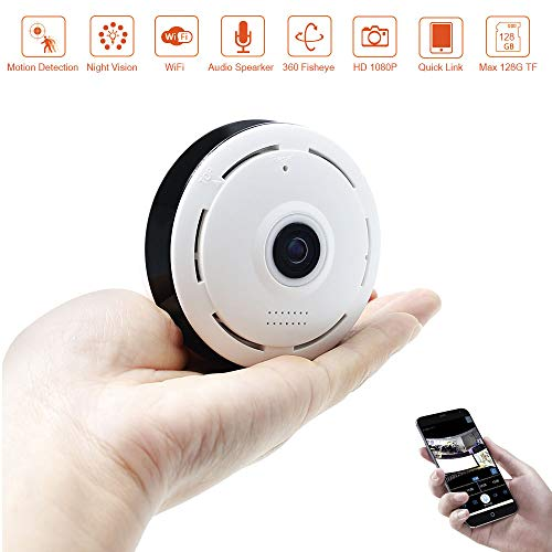 Mini Spia Camera LXMIMI 1080P Telecamera Spia Wireless Camera Nascosta Camera con Motion Detection