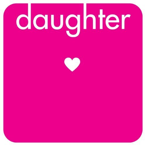Captions Daughter Original Cork-Backed Drinks Coaster - Gift Idea by Captions