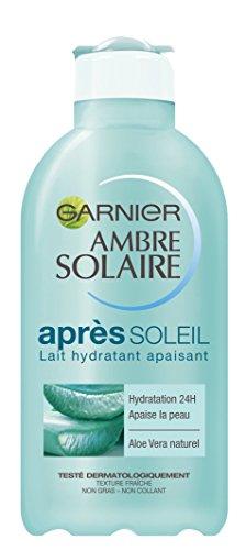 Garnier Ambre Solaire - Lait Hydratant Apaisant Après Soleil à L'Aloe Vera - 200 ml