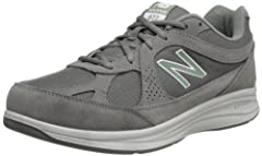 Promote a Proper Stride: The 877 walking shoe from New Balance features Walking Strike Path technology in the outsole to help stabilize and guide the foot through the walking gait cycle Heritage-Inspired Design: These comfortable walking shoes are cr...