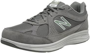 New Balance Men's 877 V1 Walking Shoe, Grey, 12 X-Wide