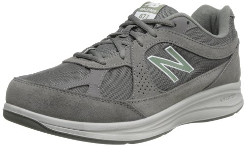 New Balance Men's 877 V1 Walking Shoe, Grey, 12