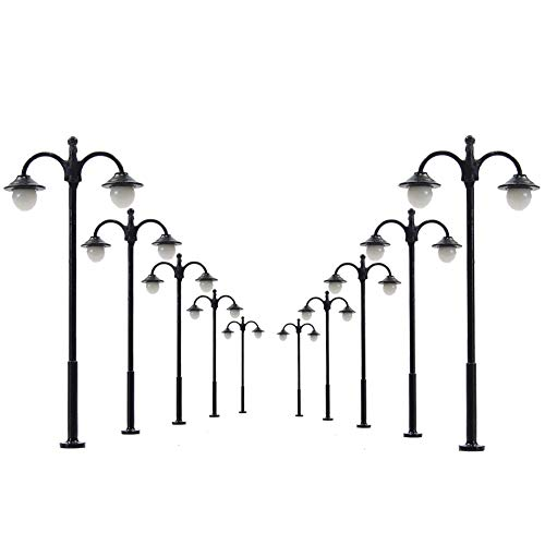 Evemodel LYM16 10 STK. LED Parklaternen Leuchte Lampen 60mm 12-18V 3v Spur H0