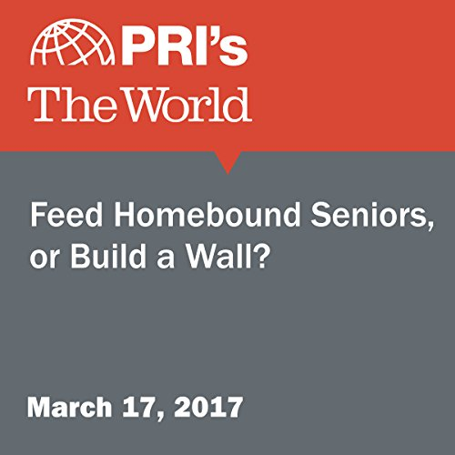 Feed Homebound Seniors, or Build a Wall? audiobook cover art