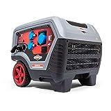 Briggs and Stratton Quiet Power Technology Series Q6500 Generador inversor portátil de gasolina de 6500 vatios/5000 vatios de energía limpia, ultra silencioso y ligero
