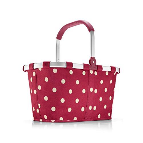 Reisenthel carrybag, ruby dots, BK3014