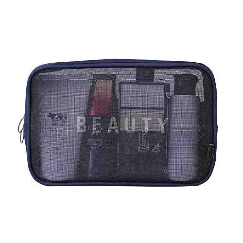 OYHBGK Voyage Cosmétique Sac Casual Zipper Maquillage Maquillage Organisateur Pochette De Rangement Trousse De Toilette Kit De Lavage Beauté