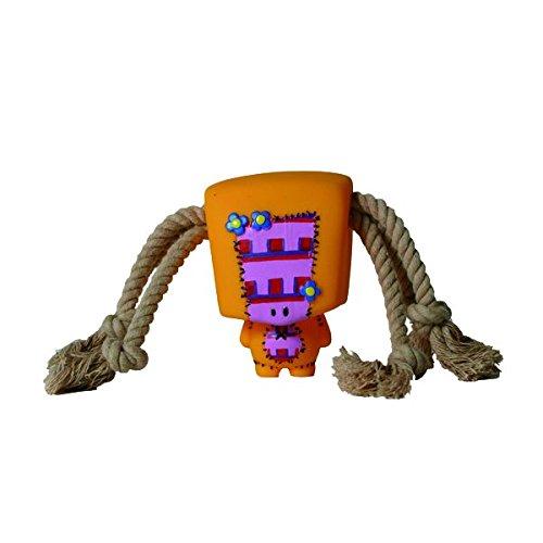 Martin Sellier - L'épouvantail, jouet en vinyle et corde 10 cm