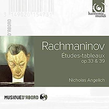 Rachmaninov: Etudes-tableaux, Op. 33 & 39