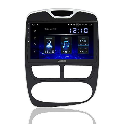 Dasaita 9' Android 10.0 Radio Coche Bluetooth Manos Libres para Renault Clio IV 4 Radio 1 Din Con Pantalla 1280*720