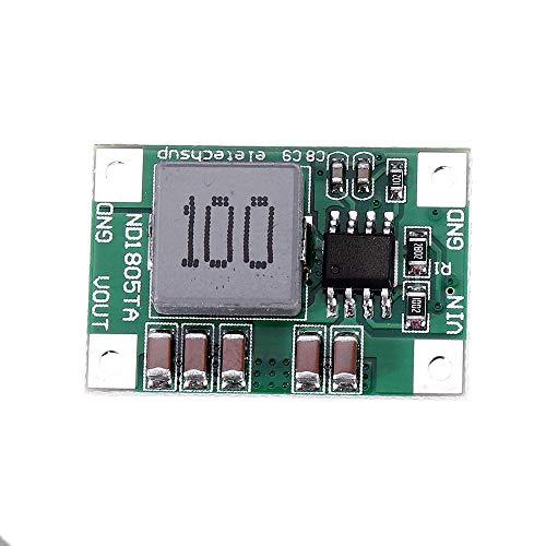 Módulo electrónico Mini 5A convertidor DC-DC Paso reduce el módulo regulador de voltaje Buck Junta 4.5V-18V a 4.2V 5pcs Equipo electrónico de alta precisión