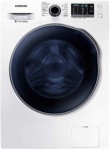 Samsung WD80J5B30AW Lavasciuga 8 Kg (6 kg Asciugatura) Caricamento Frontale, Ecolavaggio, 1400 rpm, Bianco, 8KG/6KG