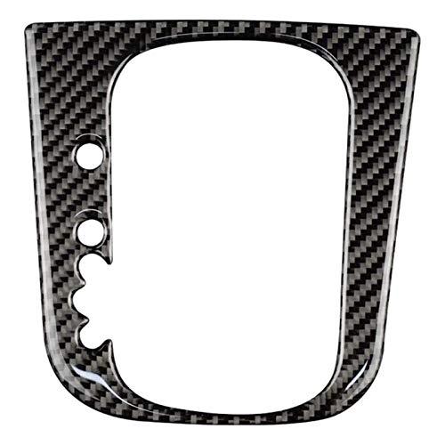 Xglai Carbon Fibra Coche Mayúsculo Panel de Cambios Pegatina Pegatina Interior Recorte Ajuste para Golf 6 MK6 2008-2013 Accesorios