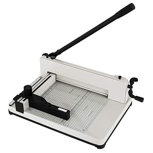 Techlifer Papierschneider A4 Industrielle Hochleistungs Papierschneidemaschine Trimmer Papierschneider Trimmer Maschine Schneidegerät