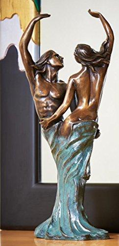 Rottenecker Bronzefigur, Skulpturen, tanzendes Liebespaar