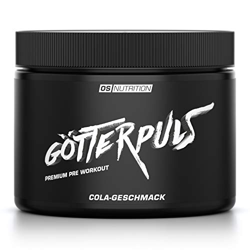 OS NUTRITION Götterpuls Premium Pre Workout Cola 308g