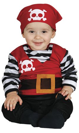 GUIRMA, S.A. Disfraz de Pirata Walter para beb