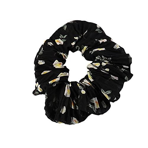 Cinta plisada para el pelo simple para mujer, accesorio para el pelo, para fiestas, al aire libre, linda banda para el pelo para mujer, color negro