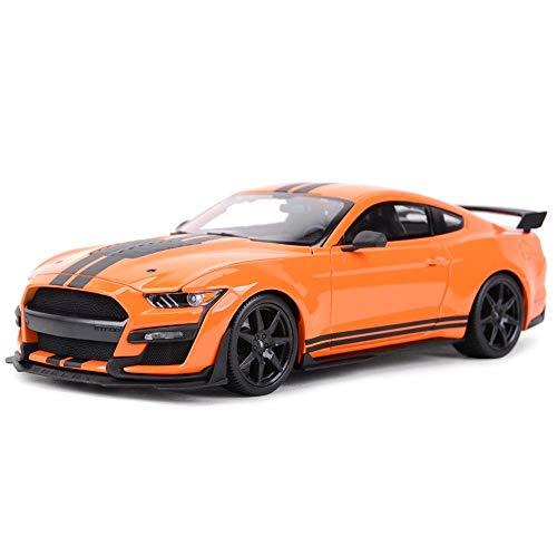 Diecast Model Car 1:18 para Mustang 2020 GT500 Sports Car Static Die Cast Vehículos Coleccionables Modelo De Coche Juguetes (Color : 2)
