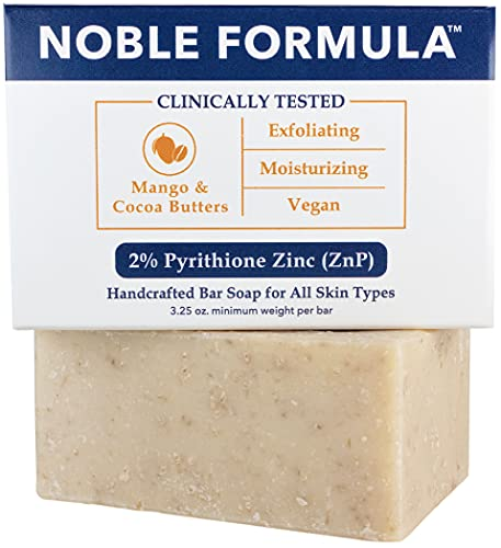 Noble Formula 2% Pyrithione Zinc (ZnP) Vegan Mango...
