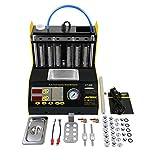 Autool CT-200 - Tester a ultrasuoni per la Pulizia di iniettori di Carburante, 6 cilindri, per perdite di Carburante, 110 V/220 V