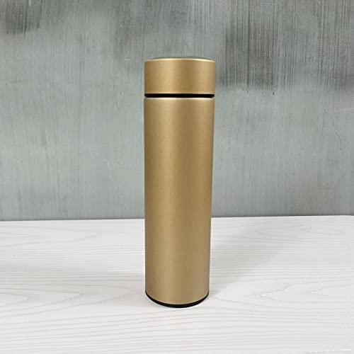 El nuevo grado alimenticio de acero inoxidable pantalla inteligente temperatura de gran capacidad termo taza leche té taza taza café adultos niños deportes al aire libre botella de agua