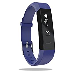Boltt Beat HR Fitness Tracker with 3 Months Personalized Health Coaching (Dazzling Blue)