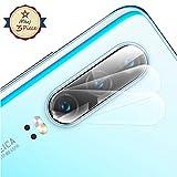 Mkej [3 Piezas Protector Lente Cámara para Huawei P30, [2.5D] Redondo Borde Lente Protector de Pantalla, HD Anti-Arañazos Cámara Trasera Película de Lente de Vidrio Templado