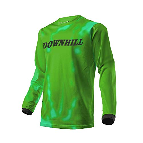 Uglyfrog 2019 Downhill Trikot Lange Ärmel Herren Mountainbike Freeride BMX Fahrradtrikot Motocross MTB/Downhill Bekleidung