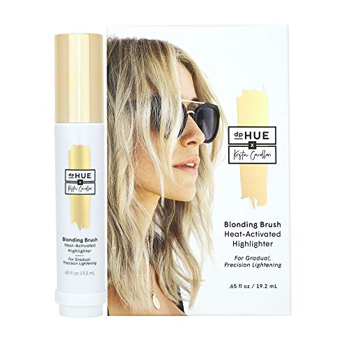 dpHUE x Kristin Cavallari Blonding Brush - Heat-Activated Highlighter for Pre-Lightened or Natural Blond Hair - Easy-to-Use Precision Applicator - With Lemon Juice & Hydrogen Peroxide