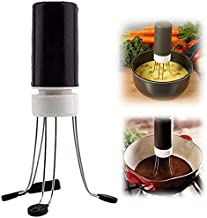 Automatic Pan Stirrer, Portable Mini Hands Free 3-Speed Stainless Steel Automatic Mixer Eggbeater, for Stiring Sauces And Soups