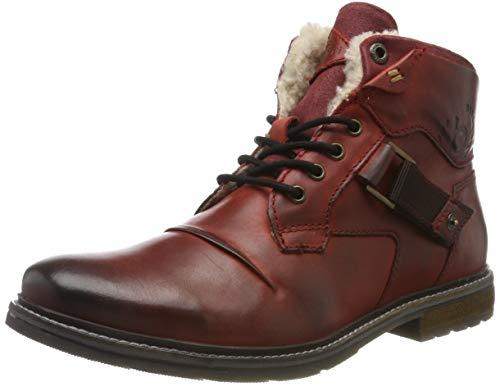 bugatti Herren 321622561200 Klassische Stiefel, Rot, 44 EU