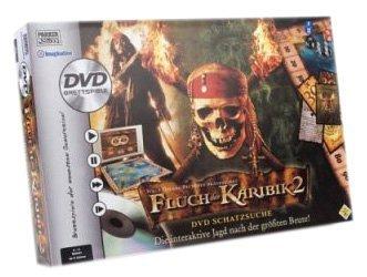 Parker - Fluch der Karibik 2 DVD Brettspiel