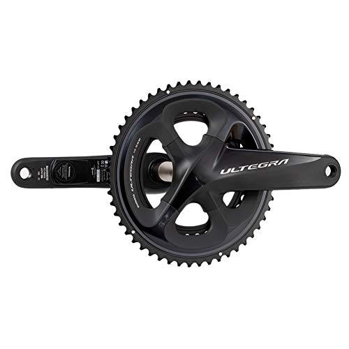 Medidor de Potencia de Bicicleta con Manivela, Medidor de Potencia de un Lado/Doble Lado Basado en Juegos de Bielas Shimano ULTEGRA R8000 para Ciclismo, Compatible con Ant+/Bluetooth