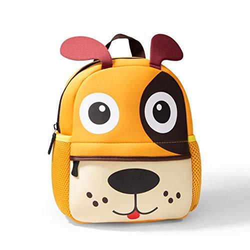 UKKD School bags Children Backpacks 3D Giraffe Design Girl Boys School Bags Toddler Kids Neoprene Schoolbag Kindergarten,E