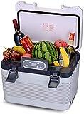 1yess Tragbare 19L Kühlschrank Auto Kühlschrank 24V / 12V / 220 Autokühler elektrische Kühlboxen...