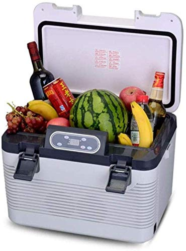 19L Refrigerador portátil for coche Frigorífico 24V / 12V / 220 coches más frío fresco eléctrico Cajas for camiones de larga distancia de conducción camping 1yess