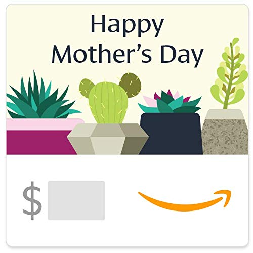 Amazon eGift Card - Mother's Day Succulents