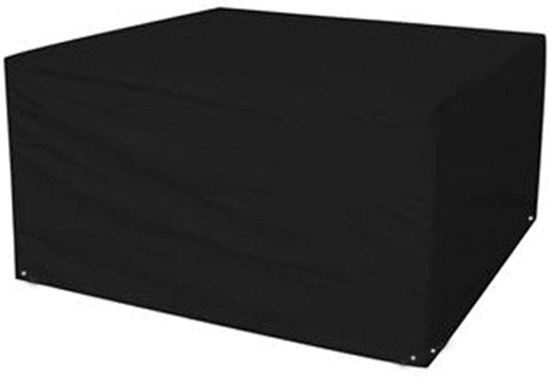venta mundialmente famosa en línea HAIPENG-Funda HAIPENG-Funda HAIPENG-Funda Projoectora Muebles Jardín Cubierta Exterior Cubrir Patio rojoa 210D Oxford Comida Conjunto Impermeable Al Aire Libre (Color   Negro, Tamao   123x123x74cm)  hermoso
