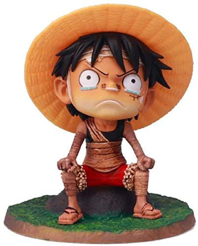 ZJZNB EIN Stück Young Ruffy Zoro Partner Bandage PVC 12Cm Anime Figur Modell Spielzeug Figuren Statue Dekoration