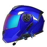 Casco De Moto Modular Bluetooth Integrado, ECE Homologado, c