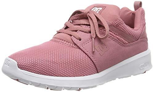 DC Shoes Damen Heathrow-Shoes for Women Sneaker, Rose, 42 EU
