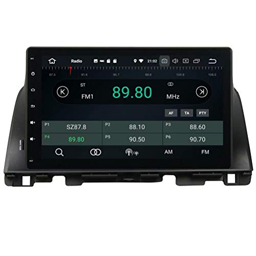 ROADYAKO Unité Principale pour Kia K5 / Optima 2015 2016 Android 8.0 Radio stéréo Automatique avec Navigation GPS Lien de Miroir 3G WiFi RDS FM AM Bluetooth AUX Multimédia Audio Vidéo