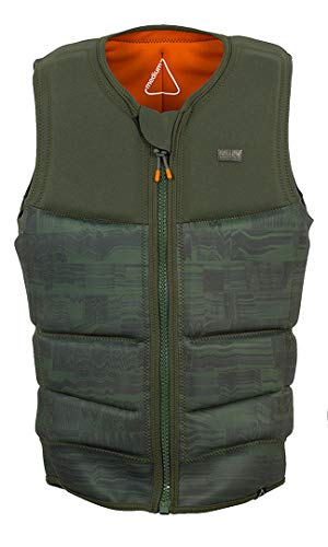 Follow Stow Cook Impact Wakeboard Vest 2019 - Olive S