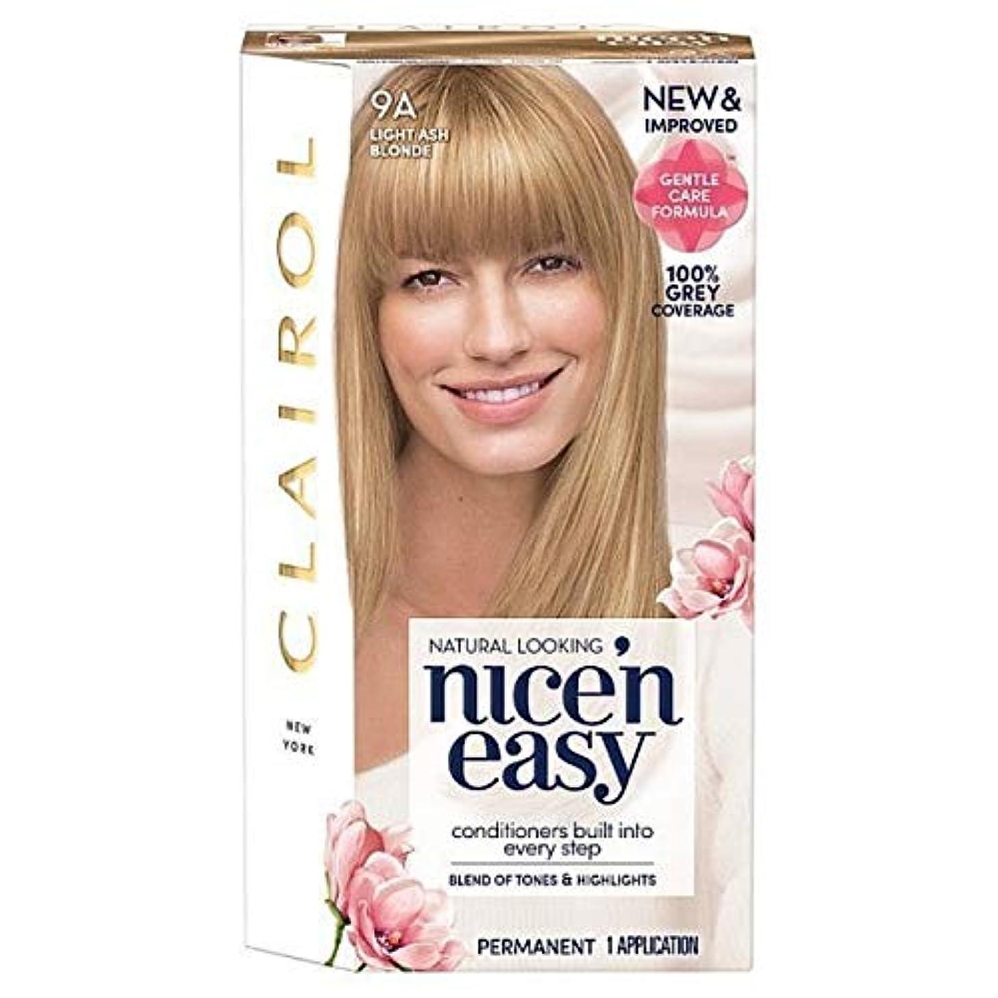 山起きる地下[Nice'n Easy] Nice'N簡単9Aの光アッシュブロンド - Nice'n Easy 9A Light Ash Blonde [並行輸入品]